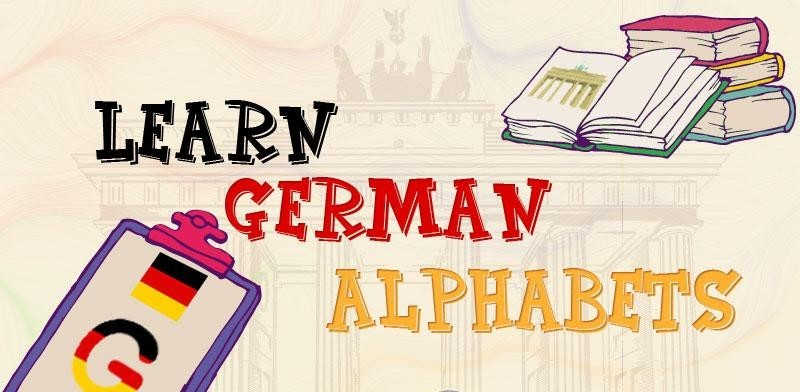 learn German alphabets germanprobashe