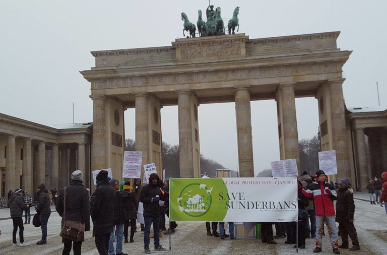 germany Berlin Sundarban Protest